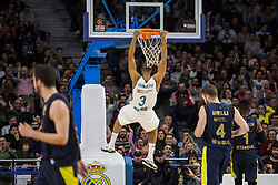 March 2, 2018 - Madrid, Madrid, Spain - during Fenerbahce Dogus Istanbul victory over Real Madrid (83 - 86) in Turkish Airlines Euroleague regular season game (round 24) celebrated at Wizink Center in Madrid (Spain). March 2nd 2018. (Credit Image: © Juan Carlos Garcia Mate/Pacific Press via ZUMA Wire)