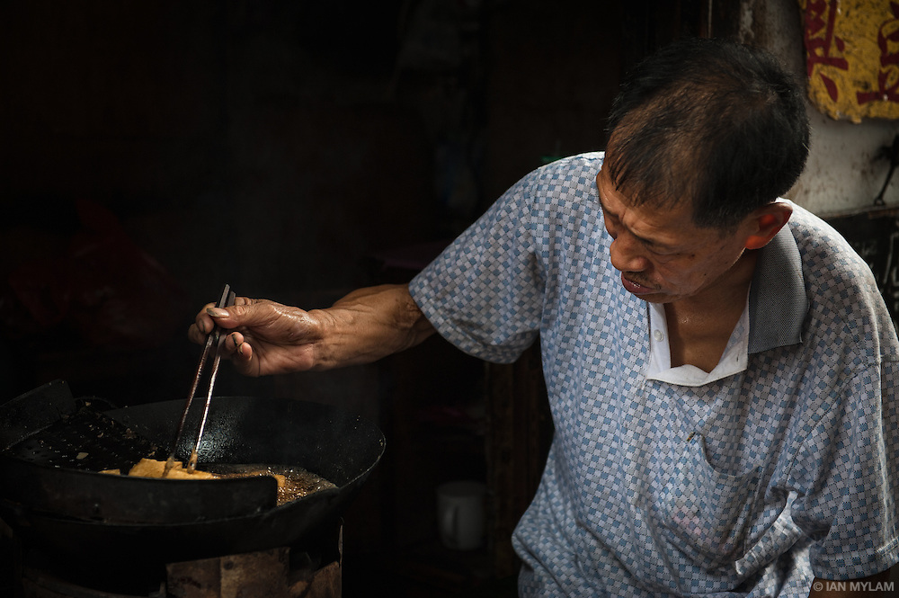 Vendor and Wok - Xitang, Zhejiang, China