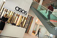 Interiors of the ASOS online fashion headquarters in Camden, North London, Britain.