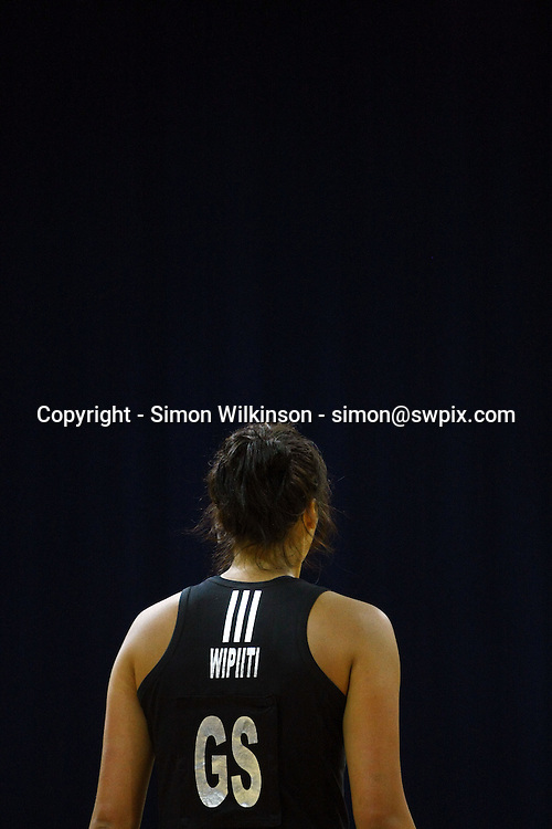 PICTURE BY VAUGHN RIDLEY/SWPIX.COM...Netball - International Netball Series - England v New Zealand - Capital FM Arena, Nottingham, England - 17/01/11...New Zealand's Daneka Wipiiti.
