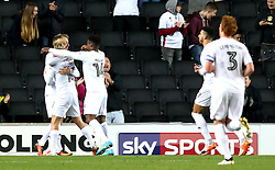 Ben Reeves of Milton Keynes Dons celebrates with teammates after scoring a goal to make it 3-1 - Mandatory by-line: Robbie Stephenson/JMP - 18/10/2016 - FOOTBALL - Stadium MK - Milton Keynes, England - Milton Keynes Dons v Bristol Rovers - Sky Bet League One