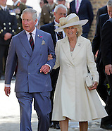 Prince Charles and Camilla visit Hougoumont Farm
