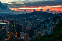 Eastern View From Victoria Peak @ Sunrise