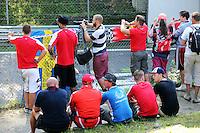 Fans.<br /> Italian Grand Prix, Saturday 6th September 2014. Monza Italy.