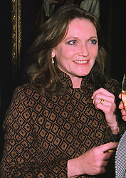 LEONORA, COUNTESS OF LICHFIELD at an exhibition in London on January 7th 1998.MEK 29