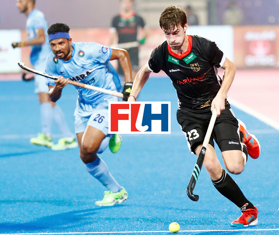 Odisha Men's Hockey World League Final Bhubaneswar 2017<br /> Match id:21<br /> India v Germany<br /> Foto: Florian Fuchs (Ger) <br /> WORLDSPORTPICS COPYRIGHT KOEN SUYK