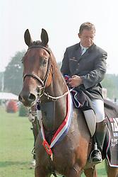 Van der Schans Wout Jan-Broere Mylord<br />KWPN Paardendagen 2001<br />Photo © Dirk Caremans