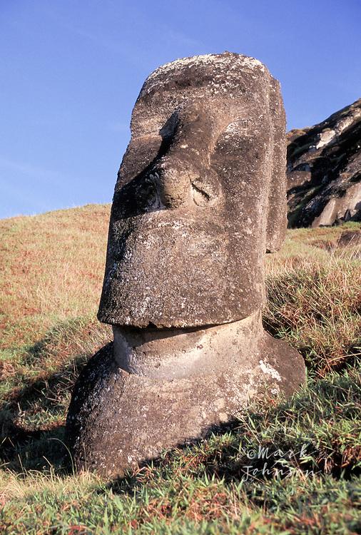 Rano Raraku, Moai, Easter Island