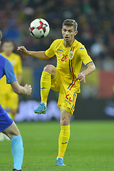 November 14, 2017 - Bucharest, Romania - Florin Tanase (Rom) during the International Friendly match between Romania and Netherlands at National Arena Stadium in Bucharest, Romania, on 14 november 2017. (Credit Image: © Alex Nicodim/NurPhoto via ZUMA Press)