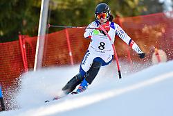 DEROUALLIERE Celine, LW6/8-2, FRA, Slalom at the WPAS_2019 Alpine Skiing World Cup Finals, Morzine, France