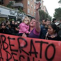 Sgomberato l'ex deposito Atac San Paolo