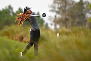 Jiayi Zhou during the final round of the LPGA Qualifying Tournament Stage Three at LPGA International in Daytona Beach, Florida on Dec. 6, 2015.<br /> <br /> <br /> ©2015 Scott A. Miller