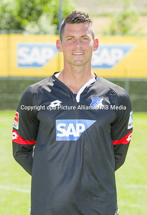 German Bundesliga - Season 2016/17 - Photocall 1899 Hoffenheim on 19 July 2016 in Zuzenhausen, Germany: Goalkeeper Alexander Stolz. Photo: APF | usage worldwide