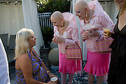 ARNELLE TOUBLANC COHEN; ARTISTS ADELLE & EVA; Collectors COLLECTOR; Brunch, Sagamore Hotel Miami Beach. Art Basel Miami Beach. 6 December 2008 *** Local Caption *** -DO NOT ARCHIVE -Copyright Photograph by Dafydd Jones. 248 Clapham Rd. London SW9 0PZ. Tel 0207 820 0771. www.dafjones.com