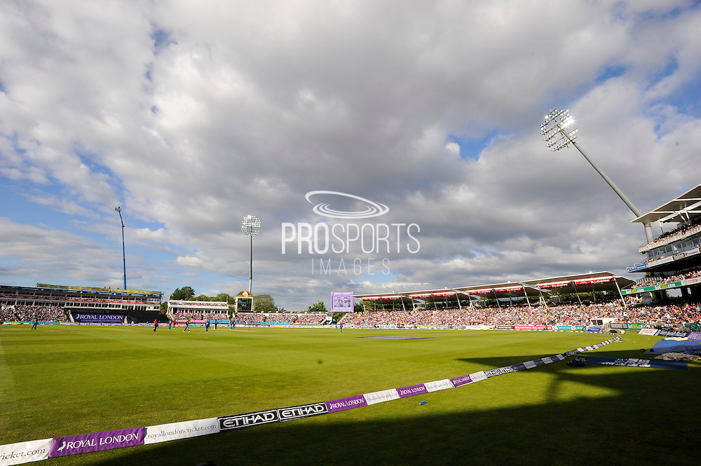 Edgbaston Stadium during the Royal London ODI match between England and Sri Lanka at Edgbaston, Birmingham, United Kingdom on 24 June 2016. Photo by Graham Hunt.