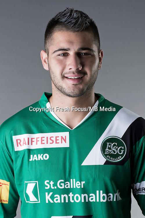 10.07.2013; St.Gallen; Fussball Super League - Portrait FC St.Gallen; <br />Dejan Janjatovic<br />(HO/freshfocus)