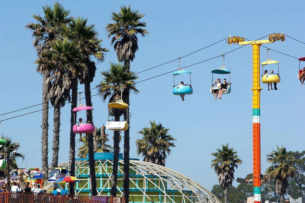 Amusement Park, Santa Cruz Boardwalk, Santa Cruz, California, United States of America