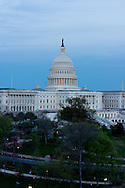 US Capitol photographed 4/24/2014 before scaffolding installed.