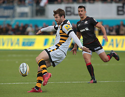 October 9, 2016 - Barnet, England, United Kingdom - Danny Cipriani of Wasps RFC during Aviva Premiership match between Saracens and Wasps at Allianz Park on 9th October 2016  in Barnet, England. (Credit Image: © Kieran Galvin/NurPhoto via ZUMA Press)