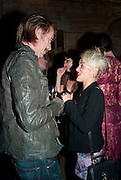 Rhys Ifans; Jaime Winstone, Criterion Restaurant  celebrates its 135th anniversary. Piccadilly Circus. London. 2 February 2010