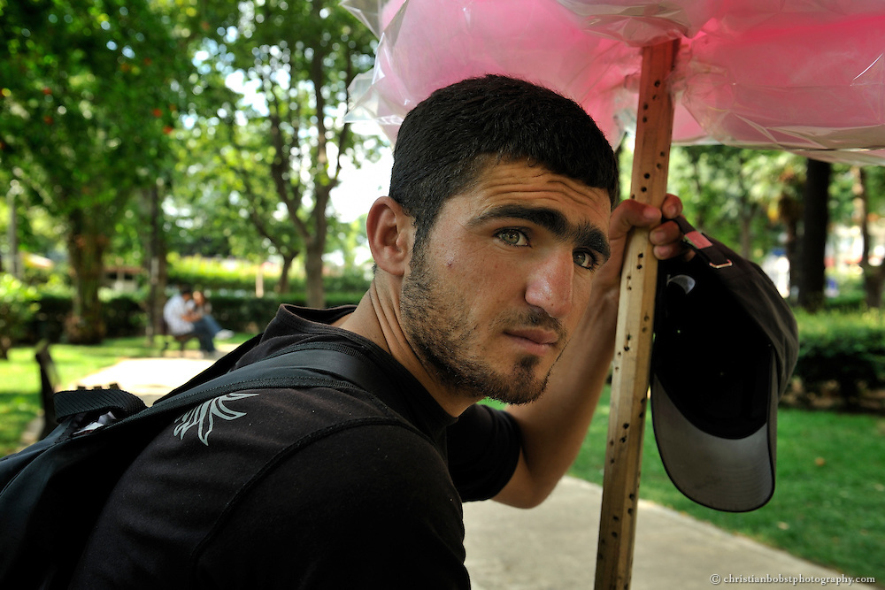 Cotton Candy Boys in Kadikoy, istanbul, 2010