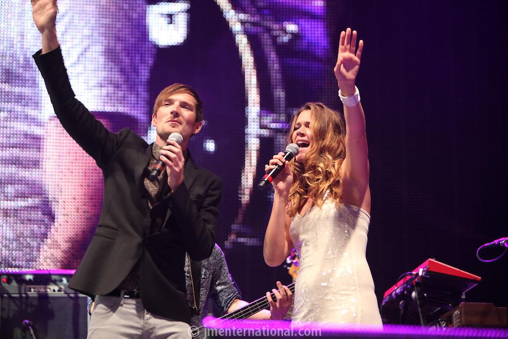 Dan Gillespie Sells (The Feelng), Joss Stone Rockwell Concert