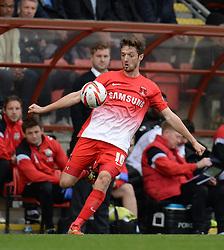 Leyton Orient's David Mooney - Photo mandatory by-line: Mitchell Gunn/JMP - Tel: Mobile: 07966 386802 12/10/2013 - SPORT - FOOTBALL - Brisbane Road - Leyton - Leyton Orient V MK Dons - League One