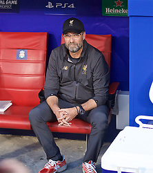 MADRID, SPAIN - SATURDAY, JUNE 1, 2019: Liverpool's manager Jürgen Klopp before the UEFA Champions League Final match between Tottenham Hotspur FC and Liverpool FC at the Estadio Metropolitano. (Pic by David Rawcliffe/Propaganda)