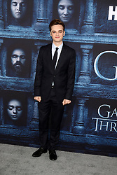 Dean-Charles Chapman at the Game of Thrones Season 6 Premiere Screening at the TCL Chinese Theater IMAX on April 10, 2016 in Los Angeles, CA. EXPA Pictures © 2016, PhotoCredit: EXPA/ Photoshot/ Kerry Wayne<br /> <br /> *****ATTENTION - for AUT, SLO, CRO, SRB, BIH, MAZ, SUI only*****