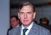 Nicholas Baker, MP, Conservative Party, UK, taken at annual conference, October 1992. 19921000072NB.<br /> <br /> Copyright Image from Victor Patterson, 54 Dorchester Park, <br /> Belfast, UK, BT9 6RJ<br /> <br /> t1: +44 28 9066 1296 (from Rep of Ireland 048 9066 1296)<br /> t2: +44 28 9002 2446 (from Rep of Ireland 048 9002 2446)<br /> m: +44 7802 353836<br /> <br /> e1: victorpatterson@me.com<br /> e2: victorpatterson@gmail.com<br /> <br /> www.victorpatterson.com<br /> <br /> Please see my Terms and Conditions of Use at www.victorpatterson.com. It is IMPORTANT that you familiarise yourself with them.<br /> <br /> Images used on the Internet must be visibly watermarked i.e. © Victor Patterson within the body of the image and copyright metadata must not be deleted. Images used on the Internet have a size restriction of 4kbs and will be chargeable at current NUJ rates unless advised otherwise.<br /> <br /> This image is only available for the use of the download recipient i.e. television station, newspaper, magazine, book publisher, etc, and must not be passed on to any third party. It is also downloaded on condition that each and every usage is notified within 7 days to victorpatterson@me.com<br /> <br /> The right of Victor Patterson to be identified as the author is asserted in accordance with The Copyright Designs And Patents Act (1988). <br /> m.<br /> <br /> None of my copyright images may be used on the Internet unless they are visibly watermarked, i.e. © Victor Patterson within the body of the image. My metadata, denoting my copyright must NOT be deleted. <br /> <br /> Web use is extra at currently recommended NUJ rates. Maximum permitted web size is<br />  400kb. <br /> <br /> Images must not be passed on to a third party - they are for the use of the authorised recipient only.