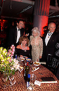 Joan Collins with her husband Percy Gibson, Buzz Aldrin with his wife Lois, Andy and Patti Wong celebrate the Chinese New Year of the Monkey, Old Billingsgate market. 31 January 2004. © Copyright Photograph by Dafydd Jones 66 Stockwell Park Rd. London SW9 0DA Tel 020 7733 0108 www.dafjones.com
