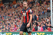 AFC Bournemouth's striker Glenn Murray rues a miss during the Barclays Premier League match between Bournemouth and Watford at the Goldsands Stadium, Bournemouth, England on 3 October 2015. Photo by Mark Davies.