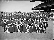 Camogie - All Ireland Senior Final at Croke Park - Dublin vs. Tipperary. Dublin are victorious..Tipperary Team..02/08/1953