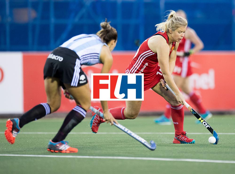 AUCKLAND - Sentinel Hockey World League final women<br /> Match id 10298<br /> 08 Argentina v England <br /> Foto: Sophie Bray  <br /> WORLDSPORTPICS COPYRIGHT FRANK UIJLENBROEK