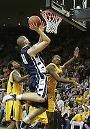 24 JANUARY 2007: Penn State forward Milos Bogetic (41) goes for a layup in Iowa's 79-63 win over Penn State at Carver-Hawkeye Arena in Iowa City, Iowa on January 24, 2007.