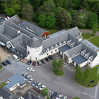 Aerial GV of House of Bruar...31.05.13<br /> Picture by Graeme Hart.<br /> Copyright Perthshire Picture Agency<br /> Tel: 01738 623350  Mobile: 07990 594431
