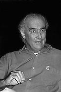 Luigi Nono,   1985 (Venezia, 29 gennaio 1924 - Venezia, 8 maggio 1990) è stato un compositore italiano di musica contemporanea..uigi Nono, (January 29, 1924 - May 8, 1990) was an Italian avant-garde composer of classical music and remains one of the most prominent composers of the 20th century.