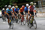 Men Road Race 230,4 km, Michael Albasini (Switzerland), Wout Van Aert (Belgium), during the Cycling European Championships Glasgow 2018, in Glasgow City Centre and metropolitan areas, Great Britain, Day 11, on August 12, 2018 - Photo Luca Bettini / BettiniPhoto / ProSportsImages / DPPI - Belgium out, Spain out, Italy out, Netherlands out -