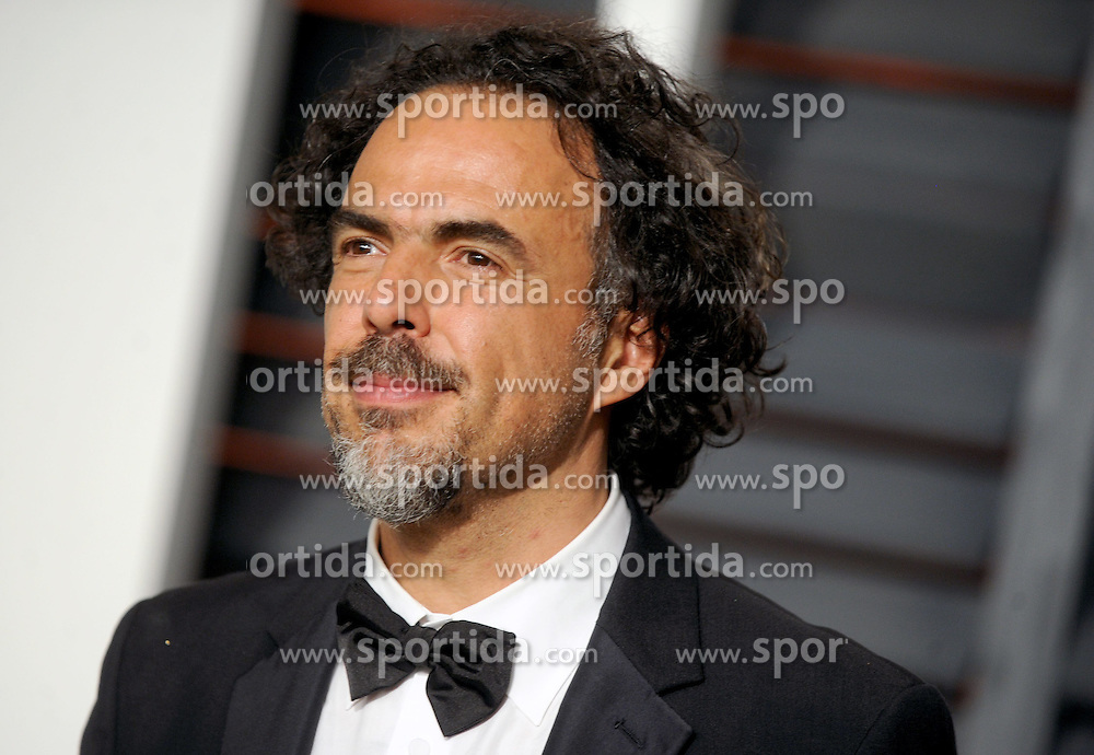 Alejandro G. Inarritu in attendance for 2015 Vanity Fair Oscar Party Hosted By Graydon Carter at Wallis Annenberg Center for the Performing Arts on February 22, 2015 in Beverly Hills, California. EXPA Pictures &copy; 2015, PhotoCredit: EXPA/ Photoshot/ Dennis Van Tine<br /> <br /> *****ATTENTION - for AUT, SLO, CRO, SRB, BIH, MAZ only*****