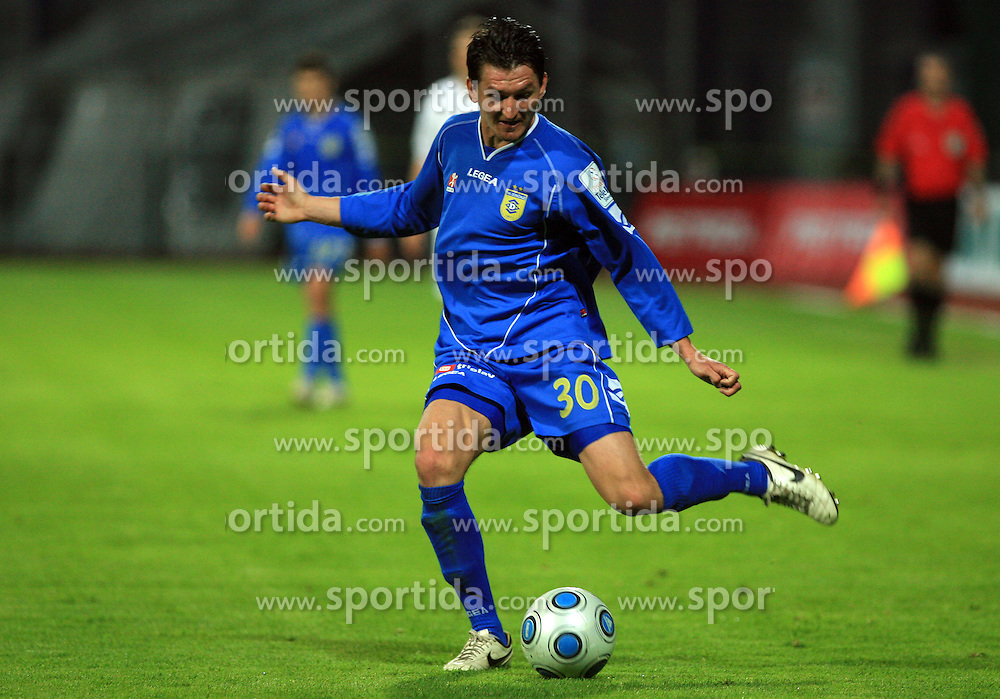 Andraz Kirm at 30th Round of Slovenian First League football match between NK Domzale and NK MIK CM Celje in Sports park Domzale, on April 25, 2009, in Domzale, Slovenia. Celje won 3:0. (Photo by Vid Ponikvar / Sportida)