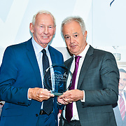 Martin Young Present  Winner of  Sport – Bob Wilson OBE the 7th annual Churchill Awards honour achievements of the Over 65's at Claridge's Hotel on 10 March 2019, London, UK.