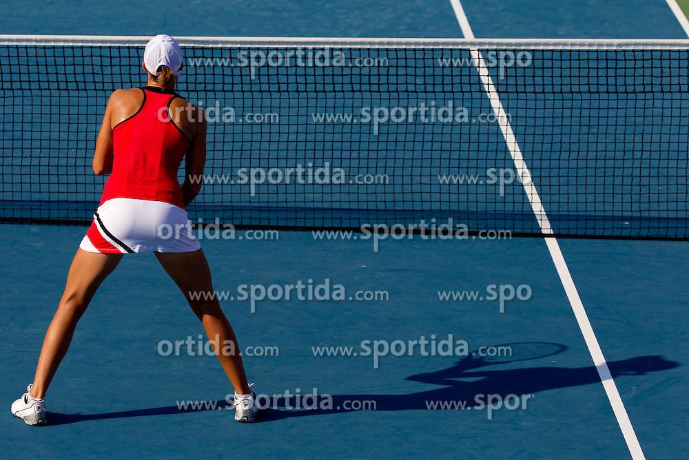 Polona Hercog of Slovenia at 2nd Round of Doubles at Banka Koper Slovenia Open WTA Tour tennis tournament, on July 22, 2010 in Portoroz / Portorose, Slovenia. (Photo by Vid Ponikvar / Sportida)