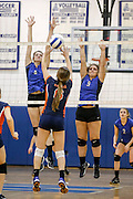 November 06, 2014.  <br /> Madison vs Clarke varsity volleyball.  Conference 35 semi final.  Madison defeats Clarke 3-0 (25-14, 25-12, 25-11) and advance to play Luray in the finals, at Madison, on Saturday night.