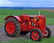 1937 McCormick-Deering farm tractor restored by Bob Callison of Kendrick Idaho