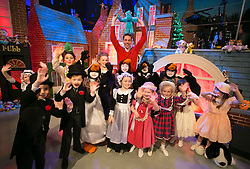 THIS YEARS LATE LATE TOY SHOW PROMISES TO BE SUPERCALIFRAGILILSTICEXPIALIDOCIOUS&hellip;. <br /> Ryan Tubridy is pictured with a host of children on the set of this years Late Late Toy Show and it promises to be supercalifragililsticexpialidocious! The theme of this year&rsquo;s show is based on the much loved musical film Mary Poppins. Picture Andres Poveda