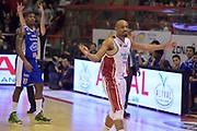 DESCRIZIONE : Campionato 2014/15 Giorgio Tesi Group Pistoia - Acqua Vitasnella Cant&ugrave;<br /> GIOCATORE : C.J. Williams<br /> CATEGORIA : esultanza composizione<br /> SQUADRA : Giorgio Tesi Group Pistoia<br /> EVENTO : LegaBasket Serie A Beko 2014/2015<br /> GARA : Giorgio Tesi Group Pistoia - Acqua Vitasnella Cant&ugrave;<br /> DATA : 30/03/2015<br /> SPORT : Pallacanestro <br /> AUTORE : Agenzia Ciamillo-Castoria/GiulioCiamillo<br /> Galleria : LegaBasket Serie A Beko 2014/2015<br /> Fotonotizia : Campionato 2014/15 Giorgio Tesi Group Pistoia - Acqua Vitasnella Cant&ugrave;<br /> Predefinita :
