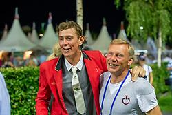 Verlooy Jos (BEL), Demeersman Dirk (BEL)<br /> S8 Mercedes-Benz Nations Cup<br /> Weltfest des Pferdesports CHIO Aachen 2014<br /> © Dirk Caremans