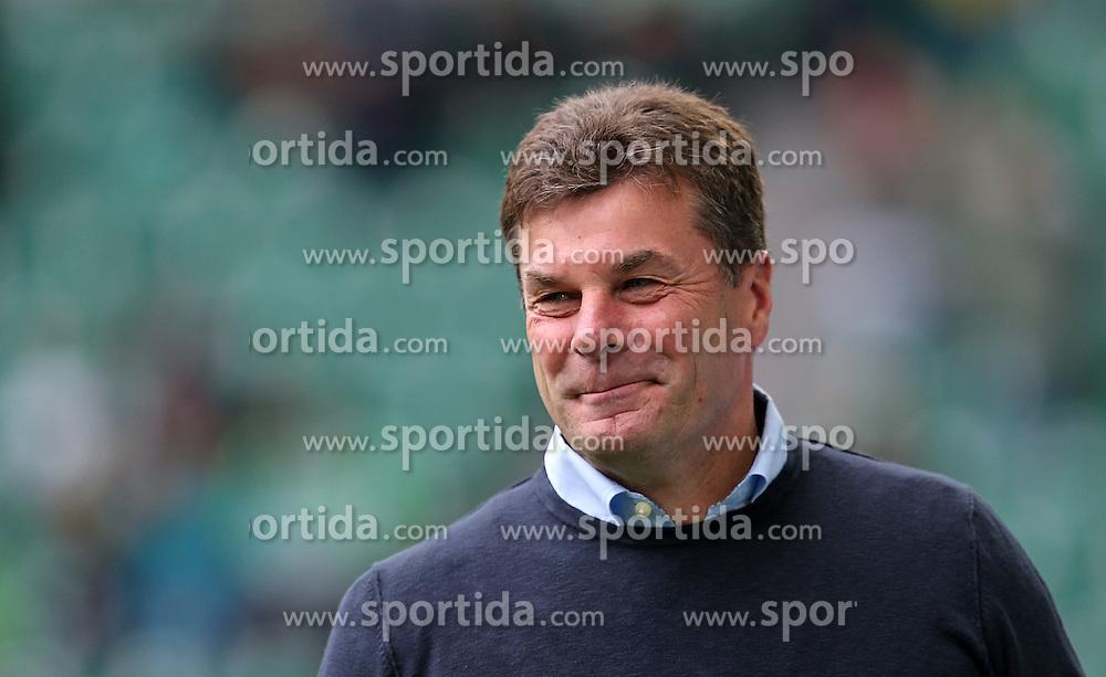 Football: Germany, 1. Bundesliga, VfL Wolfsburg - Borussia Dortmund (BVB), Wolfsburg - 16.05.2015,<br /> Trainer Dieter Hecking (Wolfsburg) <br /> <br /> &copy; pixathlon<br /> <br /> +++ NED out !!! +++