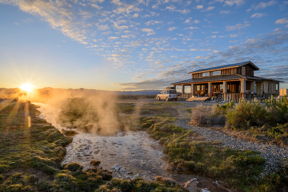 Hot Springs Ranch is a private ranch with a natural hot spring near Eureka, Nevada.