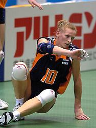 21-06-2000 JAP: OKT Volleybal 2000, Tokyo<br /> Nederland - Croatie 2-3 / Henriette Weersing